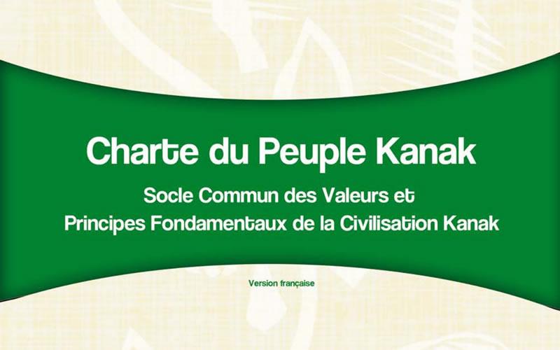 Charte du PeupleKanak