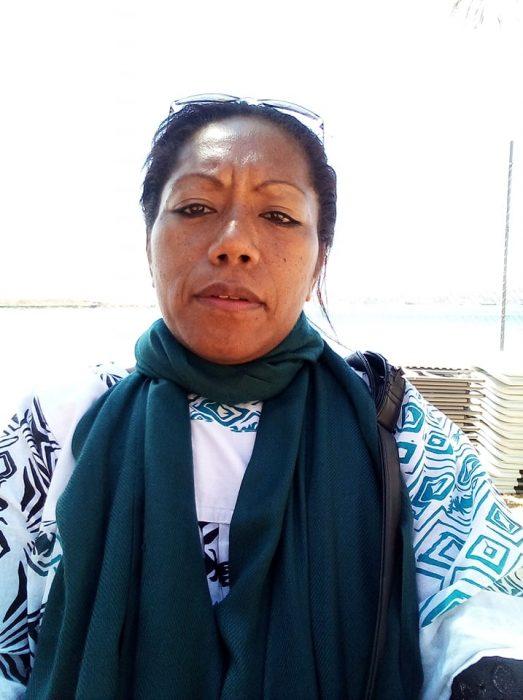 Maryline Sinewami, première femme élue deNengone